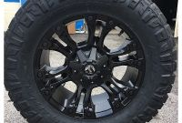 Fuel Wheels and Tires Package Custom Automotive Packages F Road Packages 20x9 Fuel