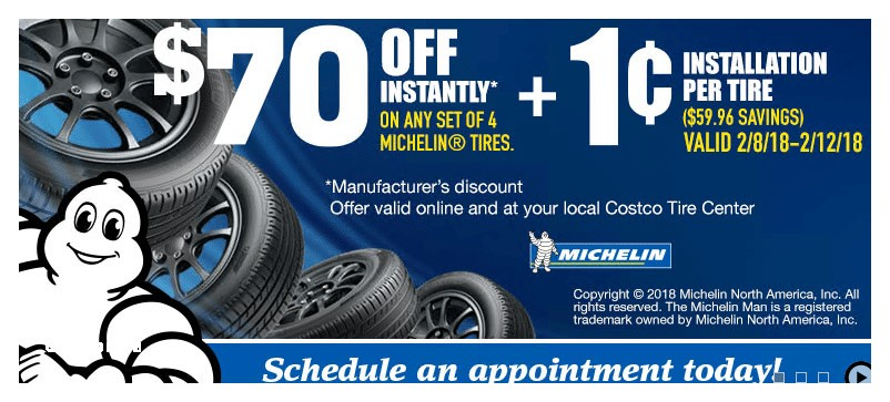 Costco Tires Bf Goodrich Coupons Costco wholesale is Offering their Members $70 F Any Set Of 4